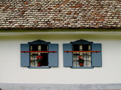 rustykalne, wieś, stary, Dom, budynek, obszarów wiejskich, tradycyjne