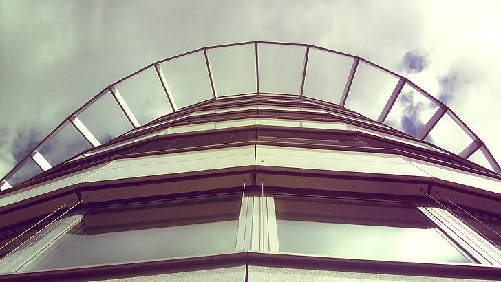 arhitektuur, Avaleht, hoone, fassaad, kaasaegne, City, Moodne arhitektuur