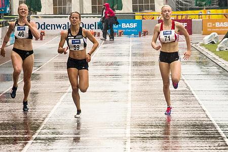 Atletism, sport, Sprint, a alerga, femei, cursa, cariera