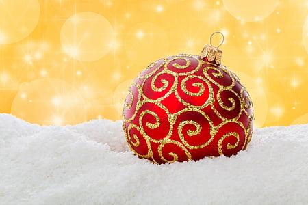 Natale, neve, decorazione, Vacanze, simbolo, inverno, Xmas