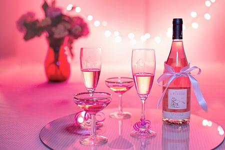 alkoholi, alkohoolsed, aastapäeva, jook, Sünnipäev, blur, pudel