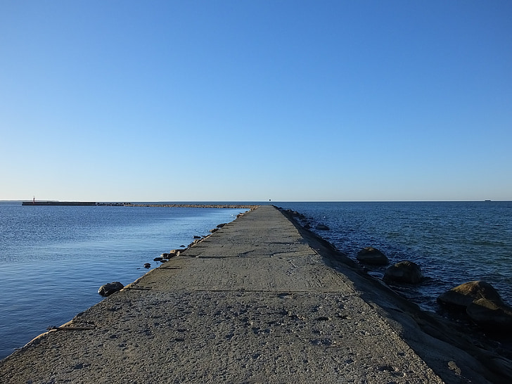 seaside, sea, water