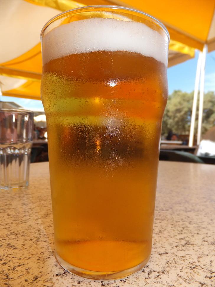 õlu, janu, jook, alkoholi, kosutust, klaas
