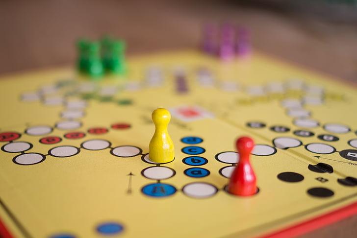 Juhatus, mäng, konkurentsi, strateegia, äri, võita, tükki