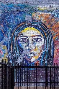 graffiti, háttér, grunge, Street art, graffiti fal, graffiti művészet, művészi