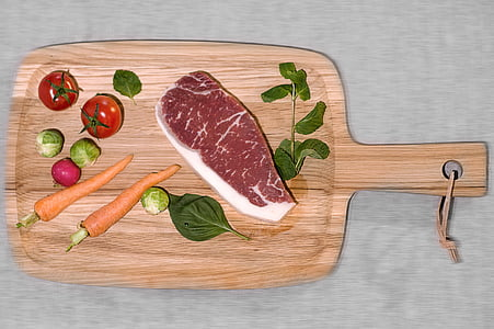 striploin, alimentats amb gra, carn de boví, carn, aliments, Bistec, Filet