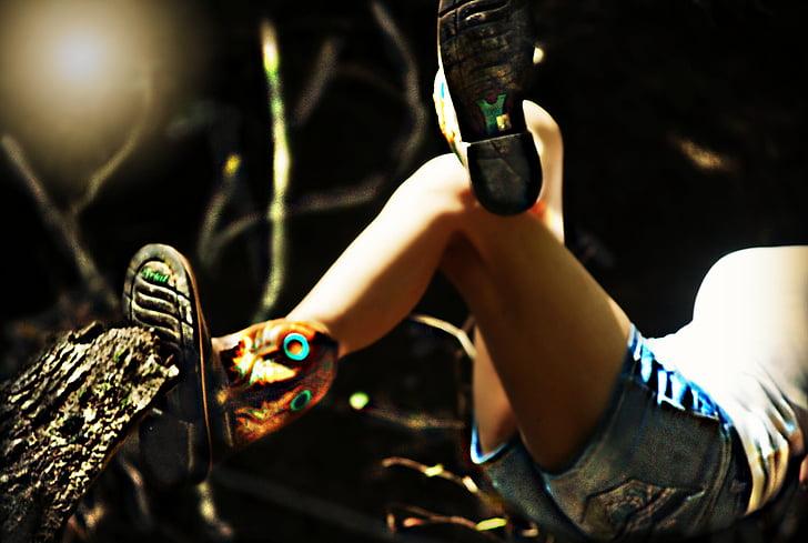 boots, brown, leather, legs, footwear, style, shoe