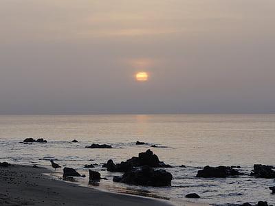 Dawn, kusten, Sky, havet, Ocean, stranden, naturen