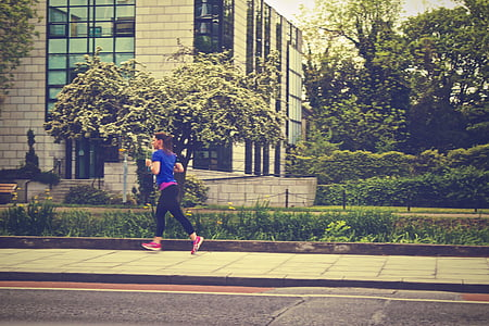 corredor, Jogger, gimnàs, salut, corrent, esport, exercici