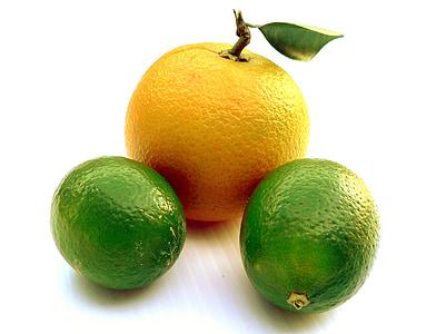 果物, 柑橘類, オレンジ, 食品, 新鮮です, 健康的です, レモン