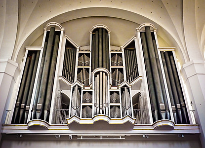 bažnyčia, organų, organų švilpukas, muzika, bažnytinės muzikos, garsas, Bažnyčios vargonai
