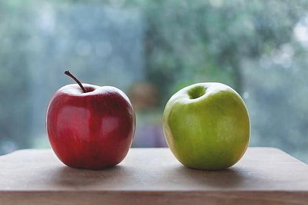 õunad, Värv, maitsev, Dieet, toidu, värske, puu
