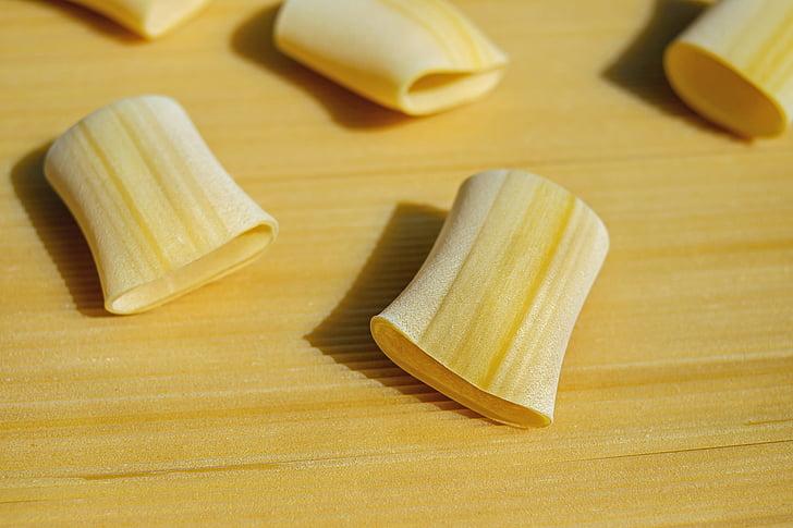 Локшина, Сировина, Paccheri giganti, Макаронні вироби, жовтий, продукти харчування, харчування