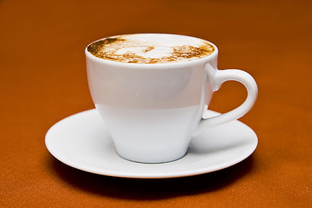 cappuccino, cup, drink coffee, drink, cup of coffee, coffee cup, mug