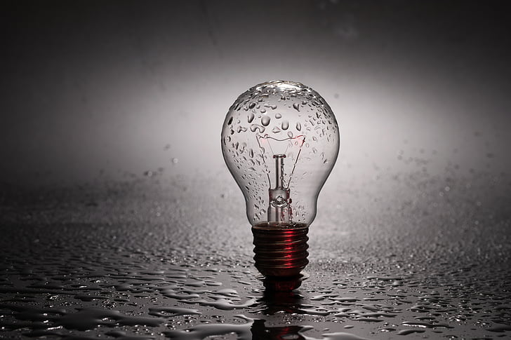 Žarnica, svetlobe, energije, sklop, Penumbra, poudarek, luči