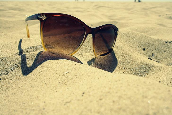 Amerika, sončna očala, Malibu, Beach, morje, val, Ocean