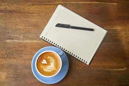cafè, blau, bon dia, cafeïna, matí, Copa, Estela