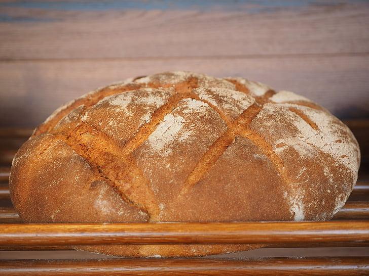 leib, toidu, küpsetised, küpsetatud, Krõbe, tusane