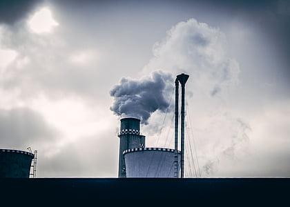 korsten, keskkonnakahju, tehase, Globaalne soojenemine, tööstus, tööstus, reostuse
