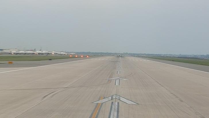 pista, l'aeroport, viatges, pista de l'aeroport, viatge, vacances