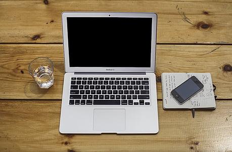 яблуко, комп'ютер, пристрої, напій, iPhone, ноутбук, MacBook air