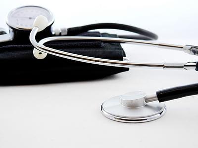 schließen, medizinische Geräte, Stethoskop, Gesundheitswesen und Medizin, ärztliche Untersuchung, Ausrüstung, Medizin
