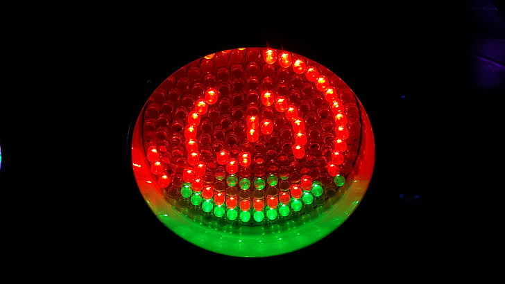 ledet, lys, partiet, belysning, LED-lys, helvete, energi