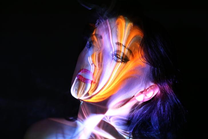fantasy, portrait, human, fairytale, beauty, female, fire - Natural Phenomenon