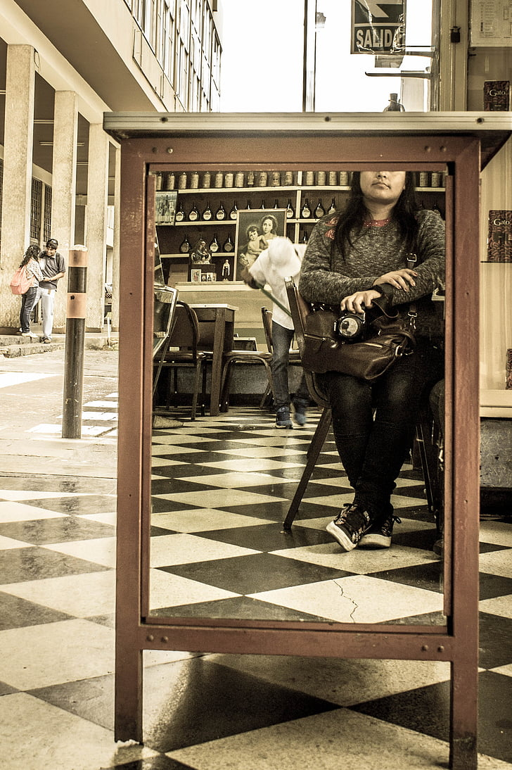 photography, image, city, people, women, urban Scene, black And White