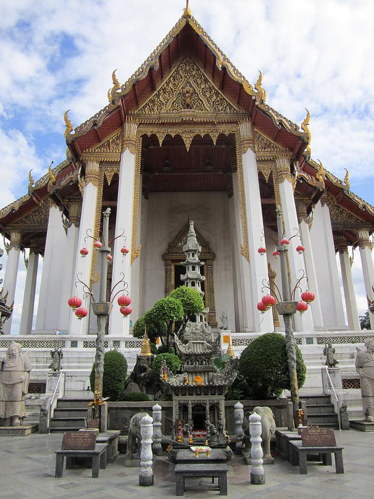 bangkok, temple, thailand, architecture