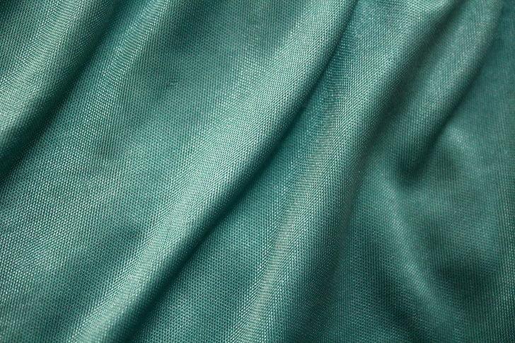 hodvábne látky pozadia, hodváb, handričkou, pozadie, hladké, modrá, modrá zelená