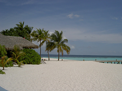 maldives, mirihi, beach