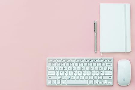 töökoha, Office, laud, äri, Blogging, töö, klaviatuuri