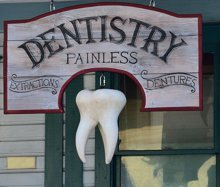 vana, hambaarst märk, märgistused, taust, hambaarst, hambaravi, märk
