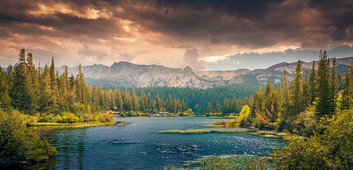 ainava, kalni, pakalni, meža, Kanāda, rāms, Meditācija