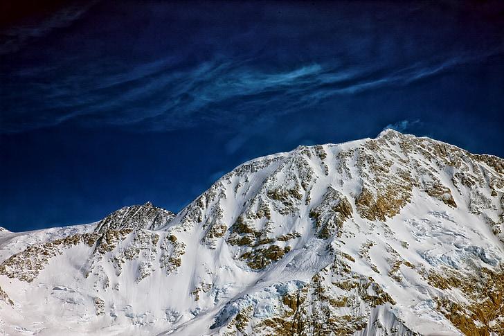 Puig de denali, Alaska, McKinley, paisatge, escèniques, neu, natura