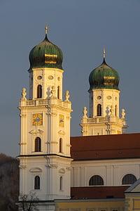 Passau, Dom, l'església, casa de culte, edifici, Històricament, Steeple