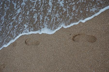 Playa, arena, no, mar, Busan, Playa de arena, hermosas playas