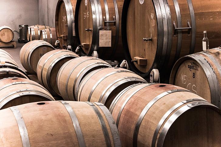 vi, barril, bóta de vi, bótes, bótes de fusta, bótes de vi, Keller