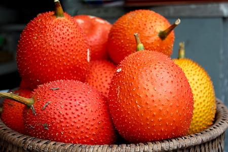 meyve, meyve, ananas, egzotik, lezzetli, Pazar, satın alma
