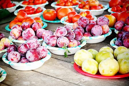 puu, talu, toidu, Aed, orgaaniliste, värske, saagi