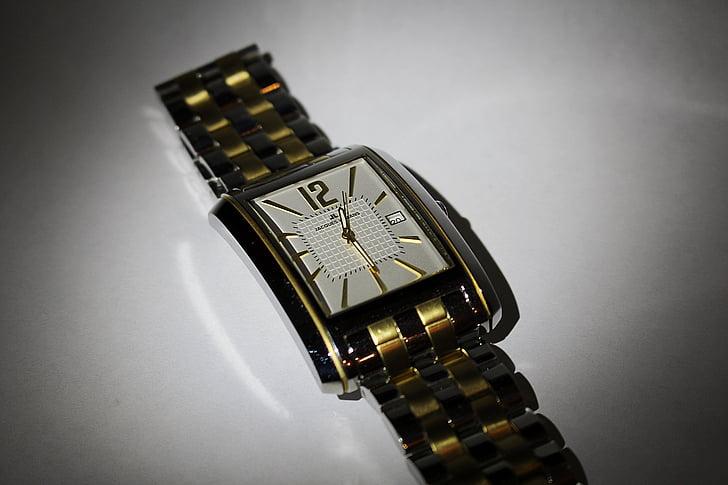 rellotge, rellotge de canell, temps que indica, temps de, rellotge de polsera, veure