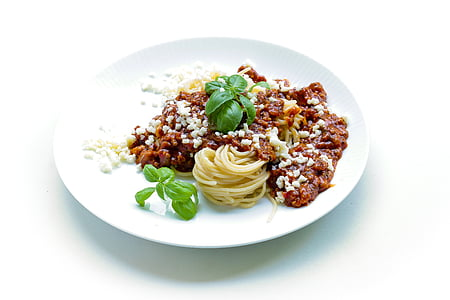 pasta, basiilik, õhtusöök, spagetid, maitsev, lõunasöögi, Itaalia roog