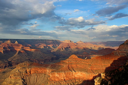 grand canyon, landscape, park, nature, travel, rock, america