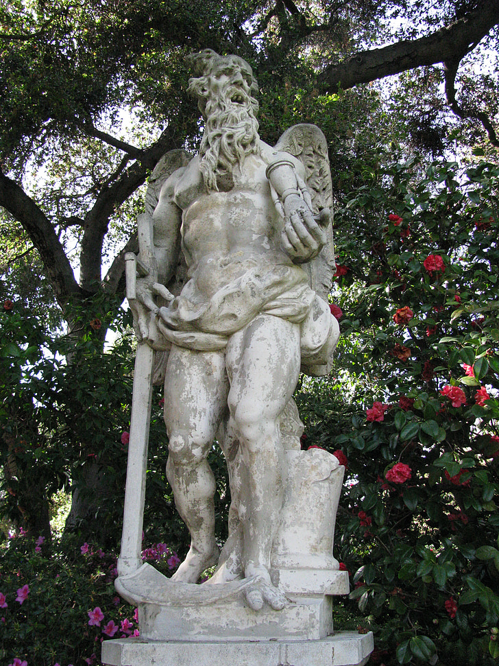 statue, god, sculpture, stone, old, ancient, mythology