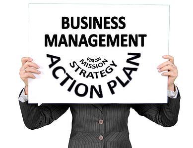 executiu, empresària, poder de la dona, Pla, acció, estratègia, visió