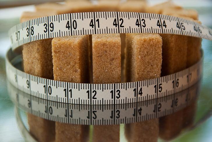 suiker, calorieën, dieet, snoep, gezondheid, voedsel, dieet