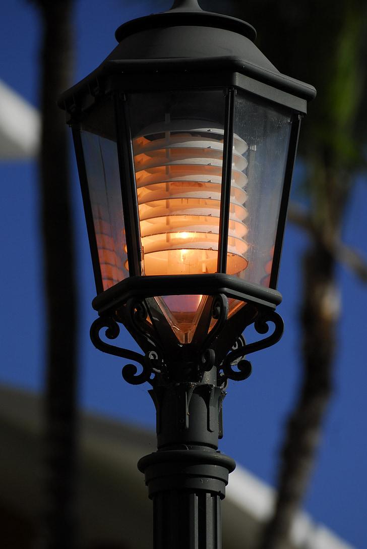 llanterna, romàntic, llum, estat d'ànim, il·luminació, Làmpada, ambient