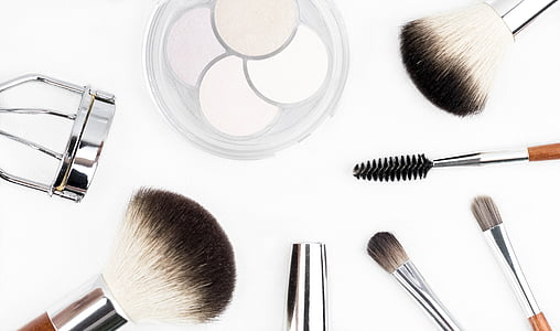 štetec na make-up, kozmetiky, make-up, tvoria, očné tiene, štetiny, oči