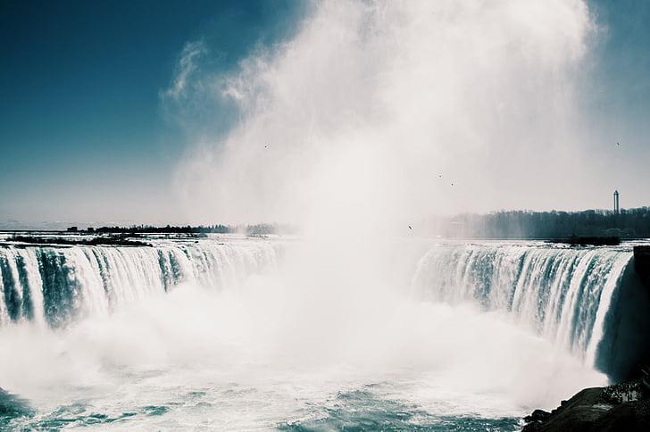 udu, loodus, Niagara falls, vee, Kosed, pika säriajaga, juga